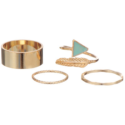 Tosca Gold Middle Ring
