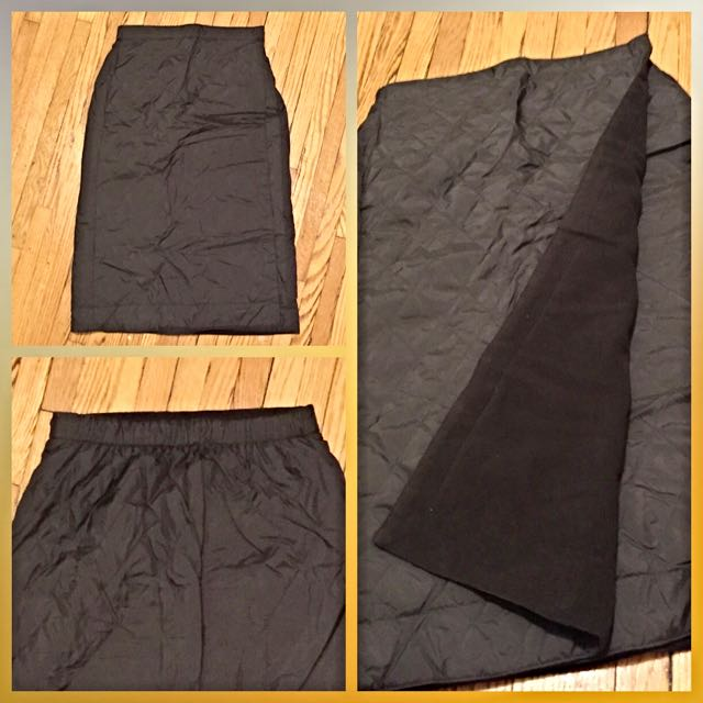 Uniqlo Fleece Skirt