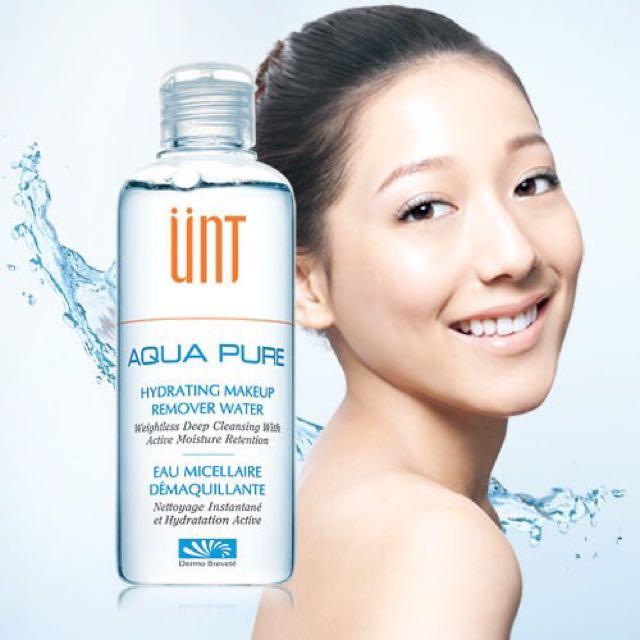UNT 頂級玻尿酸卸妝魔法水 200ml