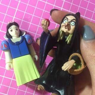 庫伯力克 白雪公主 巫婆 迪士尼 組合