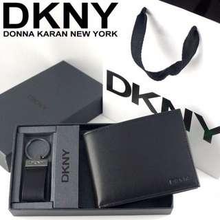 專櫃DKNY皮夾禮盒(無防刮)