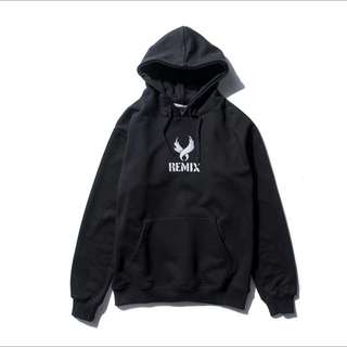Spray Wing Long Hoody