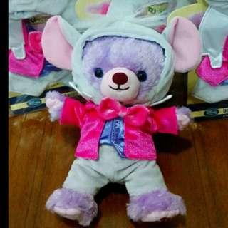 大學熊 五週年 限量 睡鼠 果醬 衣服 吊飾 娃娃