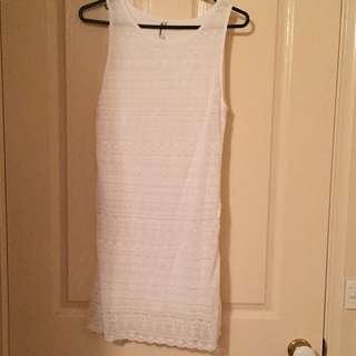 All About Eve White Lace Dress