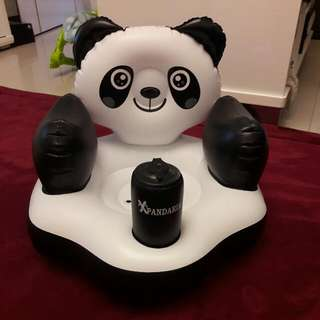 貓熊造型充氣幫寶椅