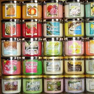 Bath And Body Work Candle