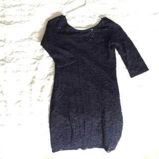 Black Short Dress