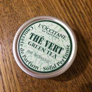 L'OCCITANE綠茶固體香水