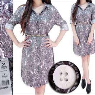 Hering Kemeja Dress (motif Batik)