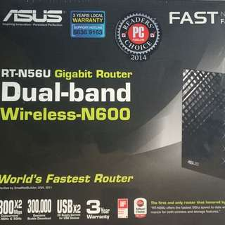 Brand New Asus RT-N56U Dual Band Wireless N600 Router