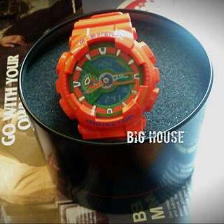 CASIO G-SHOCK -(GA-110A-9)