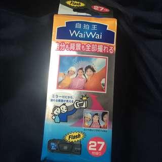 絕版! waiwai 17mm超廣角底片機