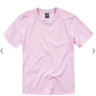 ❗️限時含運❗️Stick 高磅 素面 素色 粉紅色 粉色 短袖 短t