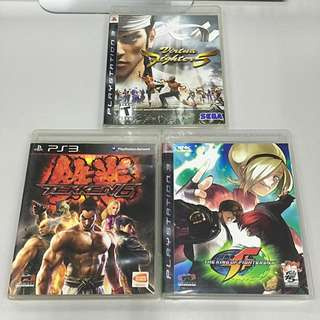 [PS3]鉄拳6, KOF XII, Virtua Fighter 5