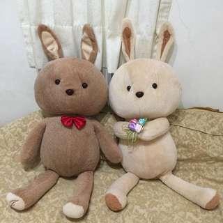 婚禮兔兔1對(公+母)