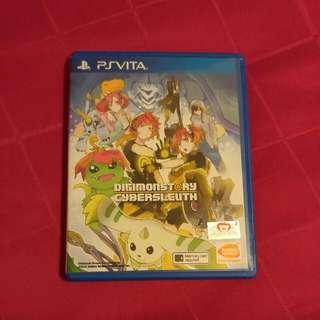 PSVita Digimon Story Cybersleauth Eng Ver