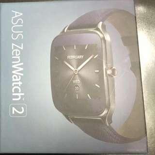 【ASUS】ZenWatch 2 智慧手錶(大錶/金屬紳士黑)