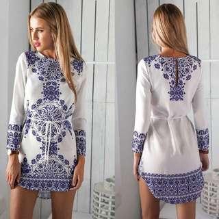 (PO) Sara Tunic Dress