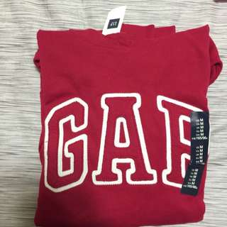Gap帽T 酒紅