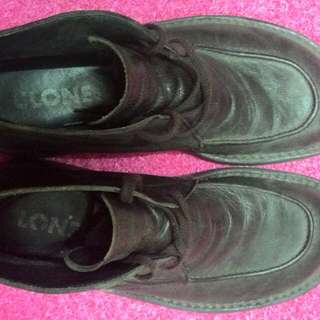 Clone男半統皮鞋