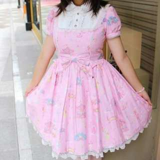 日系/蘿莉塔/森林/lolita/angelic Pretty遊樂園連身裙/OP