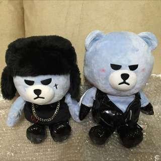 BIGBANG MADE 首爾安可場週邊胖娃娃,大聲款一隻