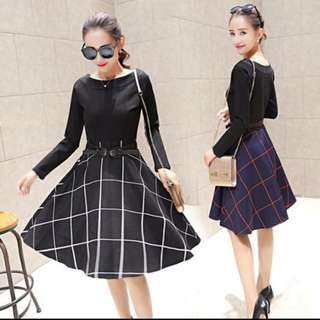 Dress In Black. (free Shipping)