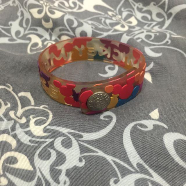 米奇橡膠手環