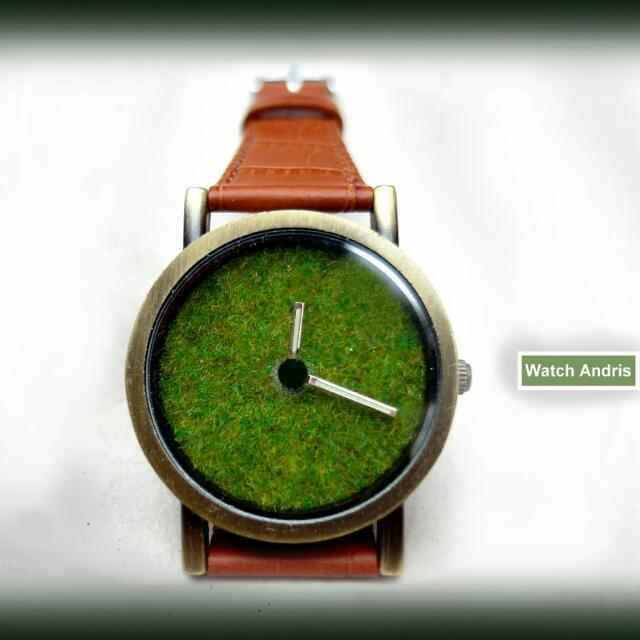古銅草皮錶