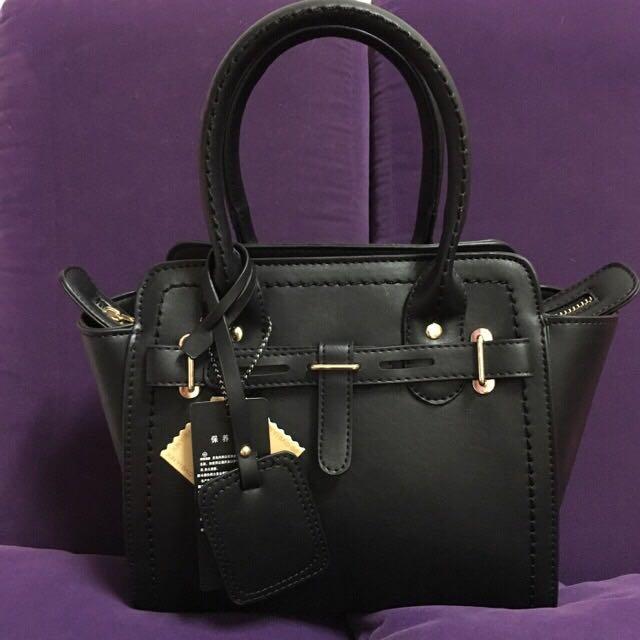 (全新)黑色手提包
