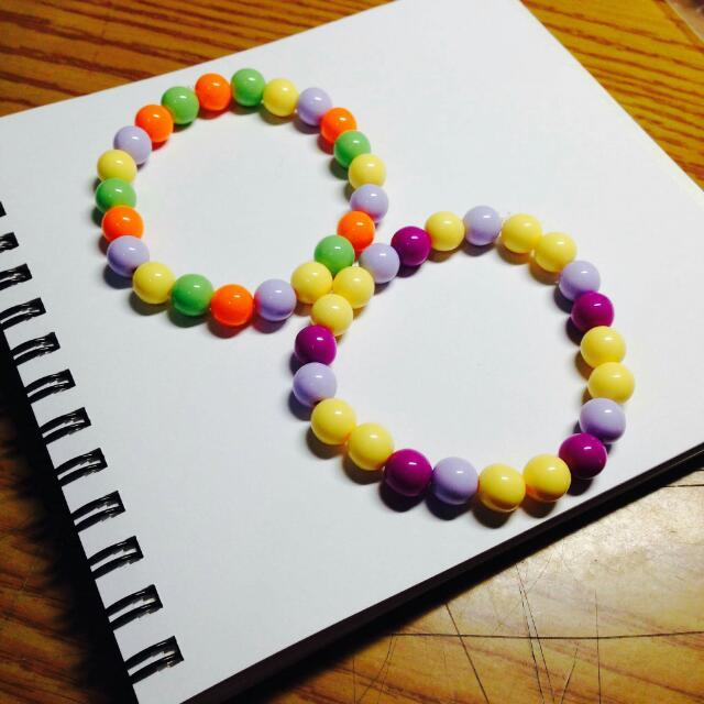 全新 | 可愛糖果系串珠手環