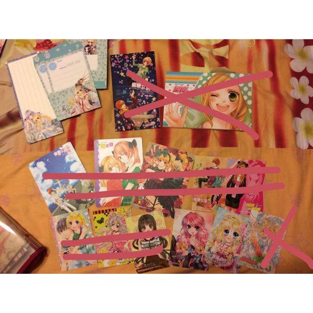 送! 夢夢 本子 信紙 塑膠卡 紙卡