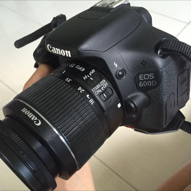 Canon EOS 600D Dslr