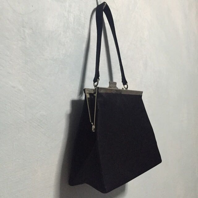 Classic Black Evening Bag Good For Wedding Dinners Tails D Women S Fashion On Carou
