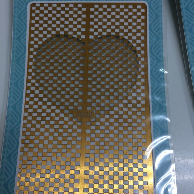 DIY 美甲光療鏤空貼紙