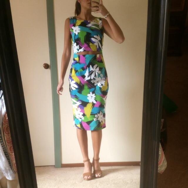 Dress With Cutout