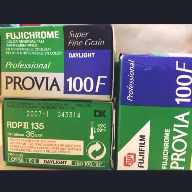 FUJICHROME Provia 100F RDP3 135底片 彩色正片 過期底片 買10送1