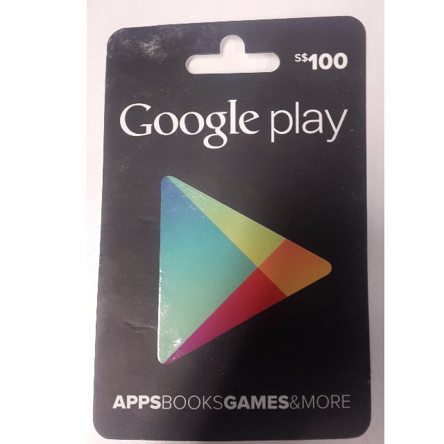 Google Play Top Up Card S 100 Android Bookore Everything Else On Carou