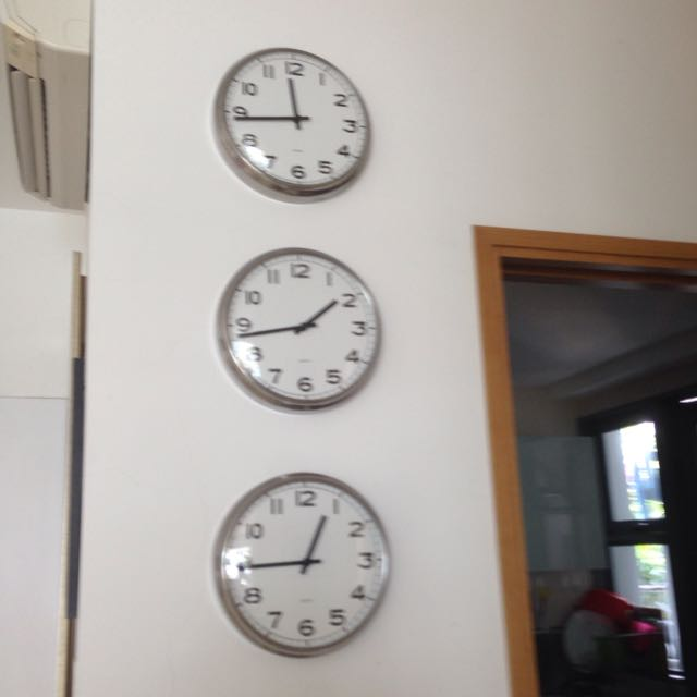 Ikea Pugg Wall Clock Furniture On Carousell