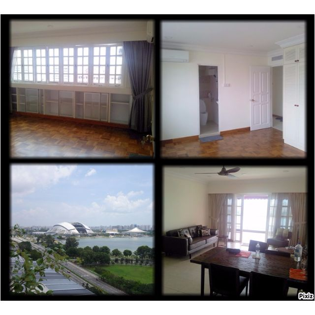 New Master Bedroom Utility Wifi With Shared Balcony Of Singapore Skyline Stadium View Mbs Flyers View Prime Location High Floor At Golden