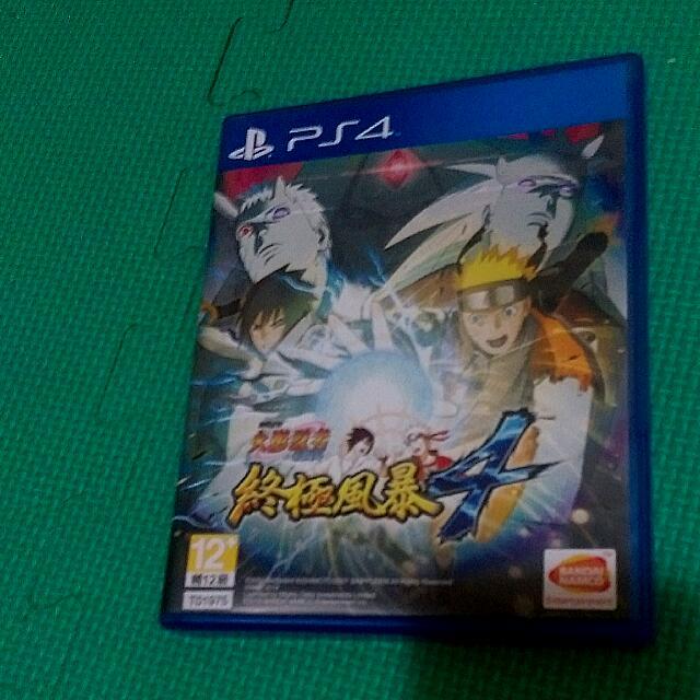 PS4 火影忍者疾風傳 終極風暴4