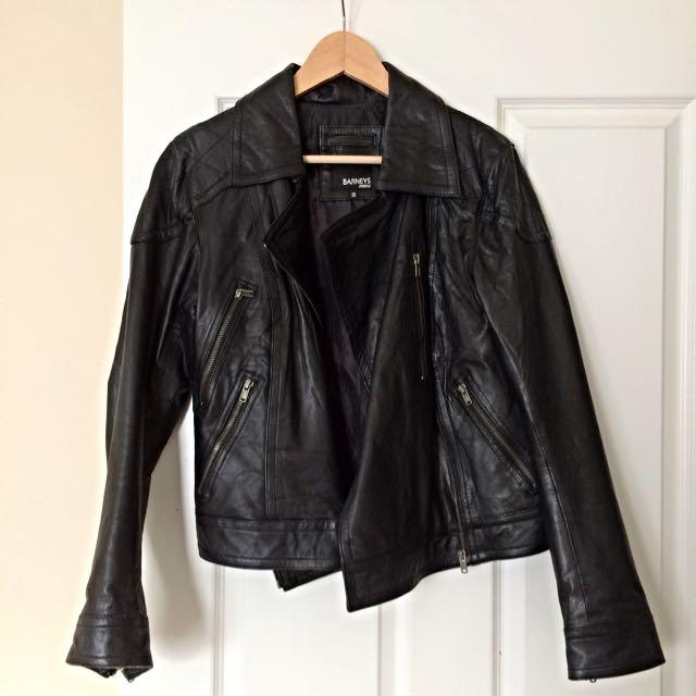 Real leather Biker Jacket