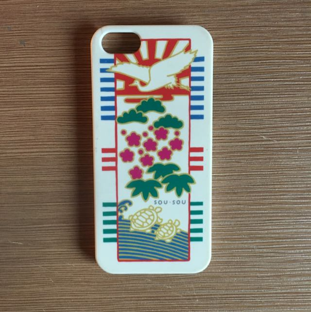 SOU SOU 手機殼 For Iphone5/5s