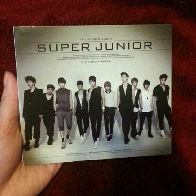 Super Junior Bonamana Repackage Ver C Kpop
