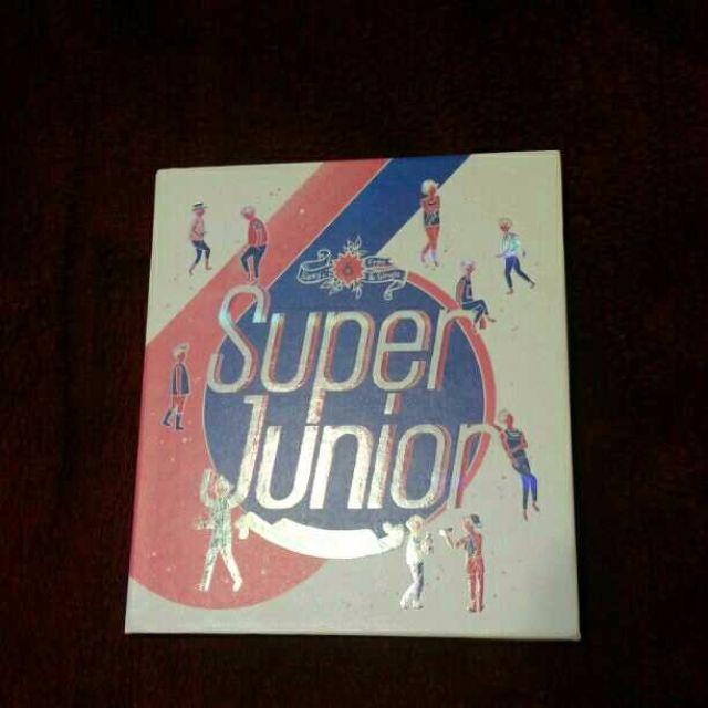 Super Junior Spy Repackage Kpop