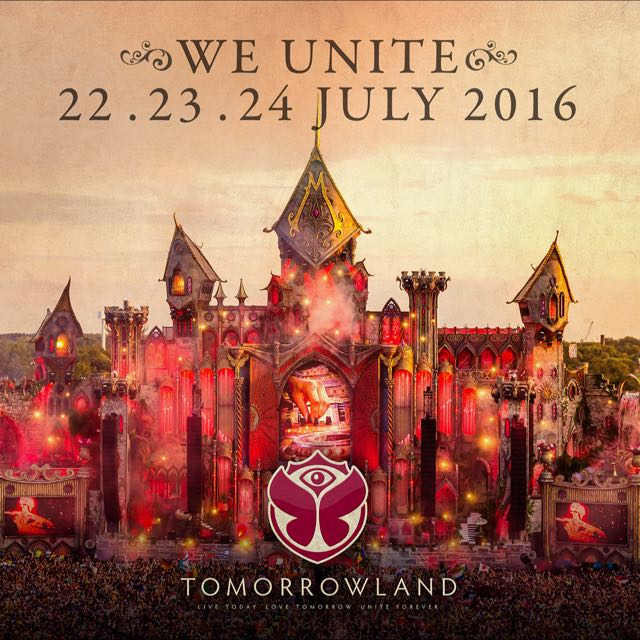 Tomorrowland 2016 - Full Madness Pass with Camping