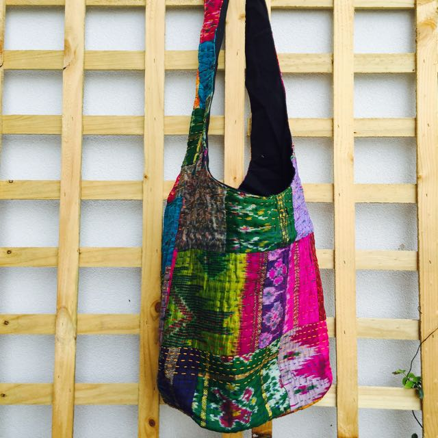 Vibrant Colours Jhola Bag.