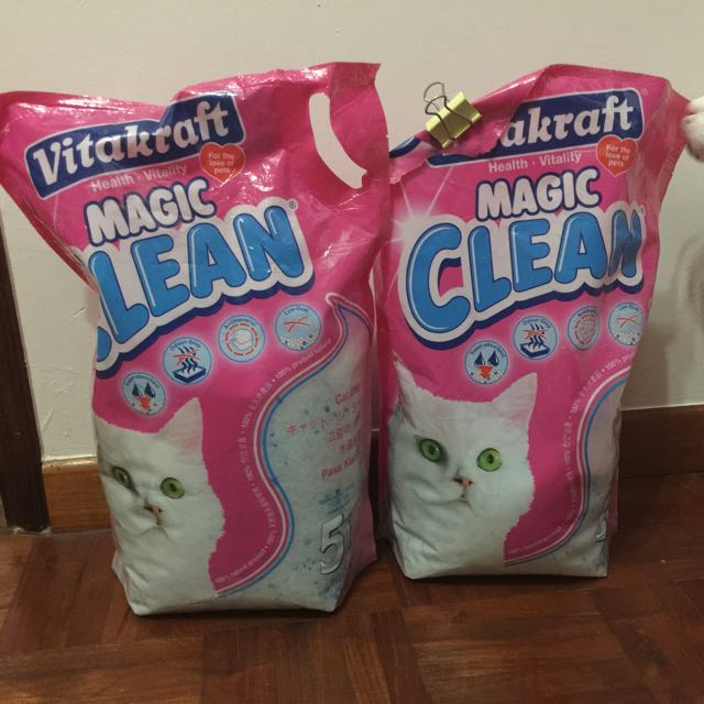 vitakraft magic clean pearl cat litter 5L+2.5L