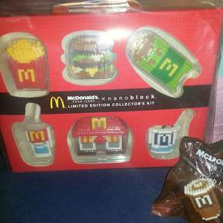 MacDonald NANO BLOCK FULL SET