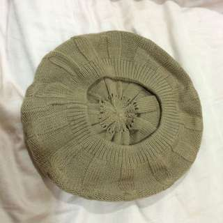 復古女孩貝蕾帽(全新)